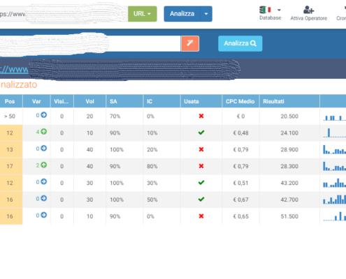 Url search intent, il tool di Seozoom che ti aiuta a migliorare il tuo posizionamento sui motori di ricerca