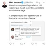 Nuovo aggiornamento Linkedin per gli amministratori delle pagine