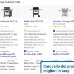 Arriva nelle serp di Google il Top Product Carousel, un nuovo formato carosello che mostra le schede prodotto