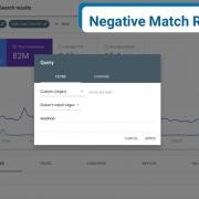 Negative Match Regex in Google Search Console