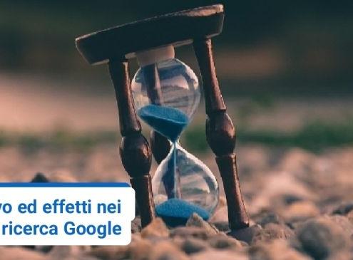 Quanto pesa il tempo di inattività di un sito web su una sua improvvisa perdita di ranking nelle serp Google?